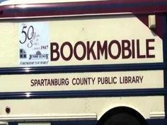 The Bookmobile has been in operation since 1947. Since that time, growing communities have gradually replaced Bookmobile stops with branch library locations. Today, the Bookmobile still serves rural areas of Spartanburg County and visits local nursing homes and assisted living facilities.