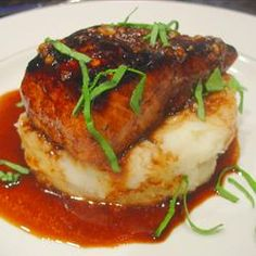 The ginger glazed mahi mahi (I also make with salmon) will tickle your taste buds!