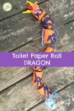 You'll be amazed at how easy it is to make this fire breathing dragon craft out of toilet paper rolls! http://www.greenkidcrafts.com/?p=97592