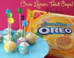 Pint Sized Baker: Oreo Lemon Twist Pops