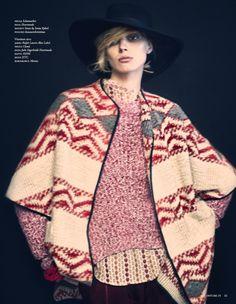 visual optimism; fashion editorials, shows, campaigns & more!: kiertolainen: olga sherer by henrik bülow for costume finland september 2013