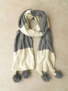 Ivy League Scarf in Gray <3