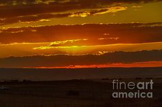 Layered Sunset:  See more images at http://robert-bales.artistwebsites.com/