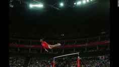 Gabrielle Douglas  US women's gymnastics on the uneven bars