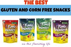 Gluten And Corn Free Snack Options #glutenfree http://www.thisflourishinglife.com/2013/02/my-favorite-gluten-and-corn-free-snacks.html