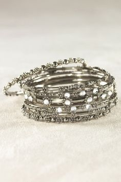 Gypsy Bangle Set - Fashion Jewelry, Bracelet