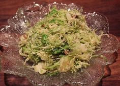 Shredded Raw Brussel