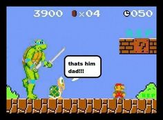 Mario in a trouble!