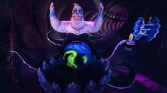 .ursula on the new ariel ride disney park, thing disney, ride premier, the little mermaid, ariel ride, mermaid ride, ursula