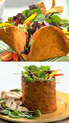 Flat Out Taco Salad Shell