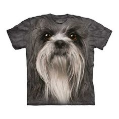 Shih Tzu Face Tee now featured on Fab.