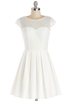 Elite the Way Dress, #ModCloth. This would be really cute for the rehearsal dinner or bridal shower.
