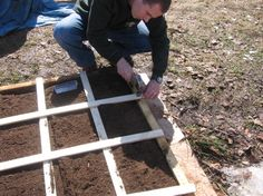 Square foot gardening plans
