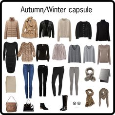 """""""Autumn/Winter capsule"""" by lillyicity on Polyvore"""