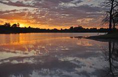 sunris, cloud, lake eufala