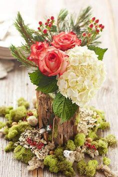 <3 Wedding centerpiece