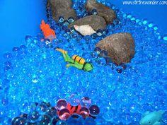 Ocean Sensory Table from Stir the Wonder