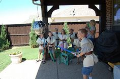Star Wars- this is the best party idea for a little boy ever!