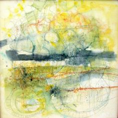 This is part of a series of encaustic watercolor paintings inspired by river walks I've taken near my home in beautiful Westport, Ma.