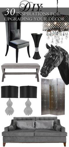 DIY | Luxurious Home Decor Inspiration