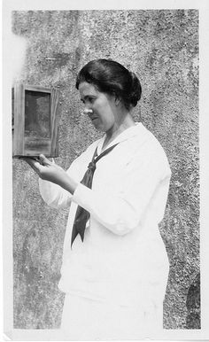 Estrella Eleanor Carothers (1883-1957) taught at the University of Pennsylvania from 1913-1933, and then continued her groundbreaking genetics research on the order Orthoptera at the University of Iowa from 1935 to 1941.