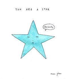 funni stuff, laugh, marcjohn, stars, art, john marc, marc john, quot, illustr
