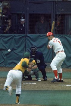 Johnny Bench - 1972 World Series