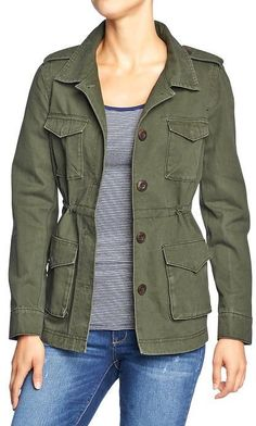 Jackets, coats, capes on Pinterest | Military Jackets, Old Navy and