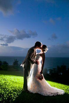 Unique wedding photo