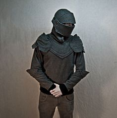 The Knight's Armor Hoodie-Jacket... the perfect PSG winter outerwear.