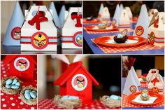 Site has collection of Angry Bird parties and ideas