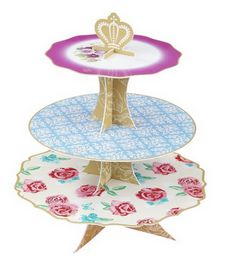paper cake stand!
