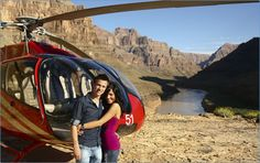 See the Grand Canyon by helicopter.