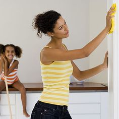 Cleaning tips for the home