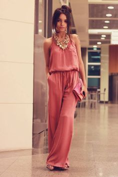 Jumpsuit to die for.