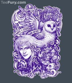 It's Only Forever by MedusaD - Shirt sold on October 7th at http://teefury.com - More by the artist at http://www.medusathedollmaker.com/