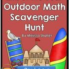End of the Year Math Scavenger Hunt for Grades 3-5