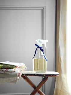 Easy: How to make your own lavender-scented room spray.