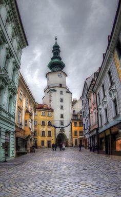 Eastern Europe, Michael's Gate, Bratislava, Slovakia
