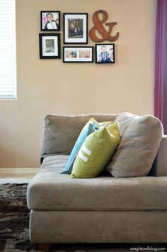 Start an easy and effortless gallery wall with Better Homes & Gardens frames!