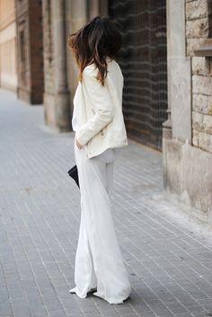 stunning white.