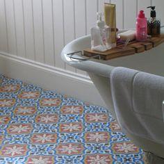 Moroccan tiles for kids bathroo?