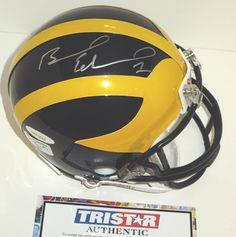 AAA Sports Memorabilia LLC - Braylon Edwards Autographed Michigan Wolverines Mini Helmet, $89.95 (http://www.aaasportsmemorabilia.com/collegiate-memorabilia/michigan-wolverines/braylon-edwards-autographed-michigan-wolverines-mini-helmet/)