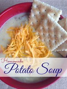 Homemade Potato Soup Recipe!
