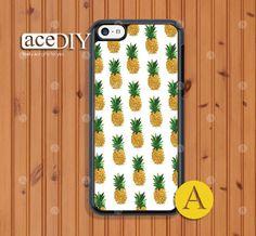Pineapple iPhone 5c case Phone cases iPhone 5c case Case by aceDIY, $7.99