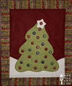14 Christmas Tree Quilt Projects from @FaveQuilts
