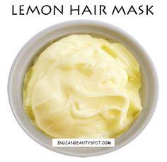 Lemon Oily Hair Mask