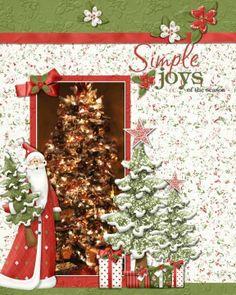christmas scrapbook, tree, scrapbook christma, christma scrapbook, scrapbook idea