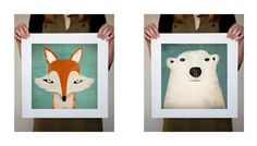 Mr. Fox + Mr. Bear
