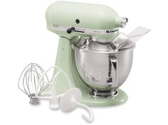 Kitchenaid stand mixer in pistachio. Maybe someday...